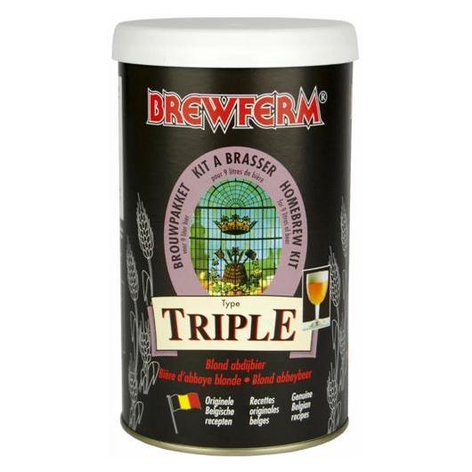 Kit de ingredientes Triple - Dorada Triple Brewferm
