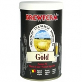 Kit de ingredientes Gold - Cerveja Dourada Brewferm