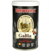Kit de ingredientes Gallia - Cerveza Ámbar Brewferm