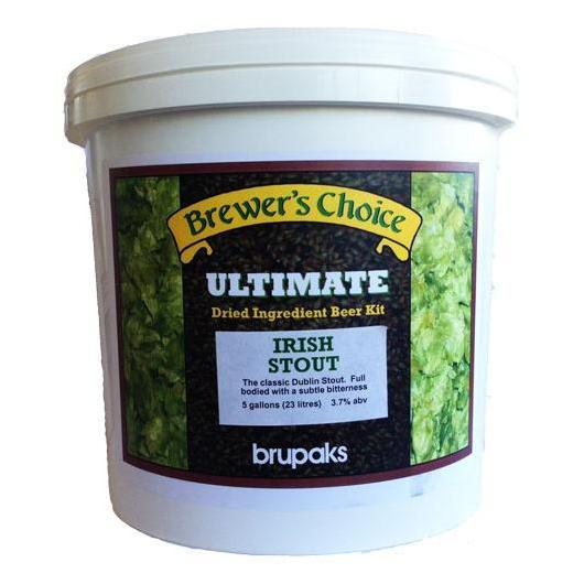 Kit de ingredientes Irish Extra Stout - Ultimate - Brupaks