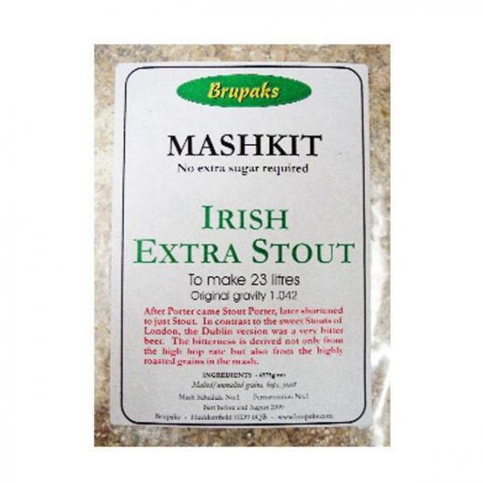 Stout Irlandesa - Todo Grano Molido Brupaks
