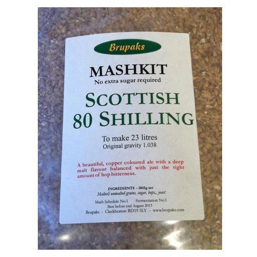Scottish Ale 80 - Todo Grano Molido Brupaks