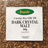 Malta Dark Crystal 500g moída