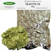 Magnum lúpulo flor