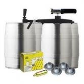 Conjunto completo de barril Profi Tap com CO2