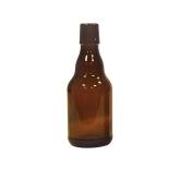 Caixa de 48 garrafas alemãs de 0,33 l com furo