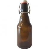 Caixa de 20 garrafas belgas de 0,33 l com furo + tampa mecânica