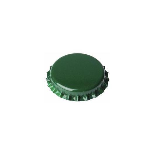 Chapas de 29 mm Verdes para botellas de cava - 100 unid