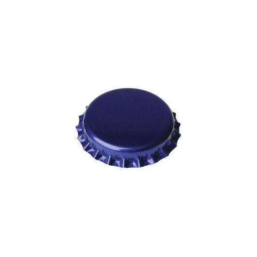 Chapas de 26 mm para botellas normales, Azules - 1.000 unid