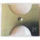 Recambio de dos pletinas reversibles de 26-29 mm para cierra botellas Emily