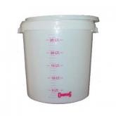 Cubo de fermentación con tapa