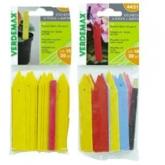 Etiquetas de colores para semilleros, 20 ud