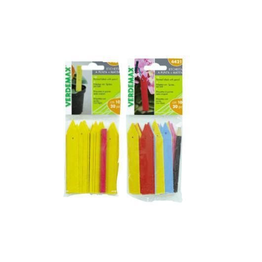 Étiquettes de couleur pour lits de semence, 20 pièces