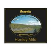 Kit de ingredientes Honley Mild - Cerveja escura suave Brupaks