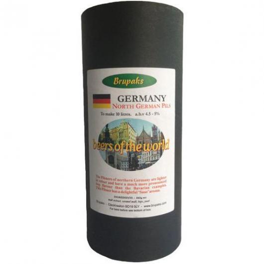 Kit de Ingredientes North German Pilsner - Beers of the World - Brupaks