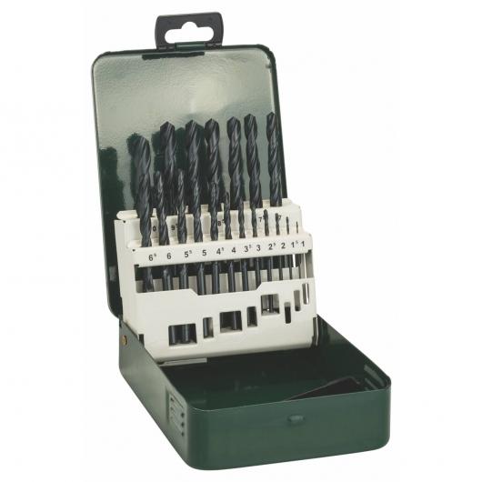 Set de 19 brocas Bosch HSS-R para metal