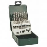Set de 19 brocas Bosch HSS-G para metal