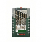 Kit de 19 brocas Bosch HSS-G para metal
