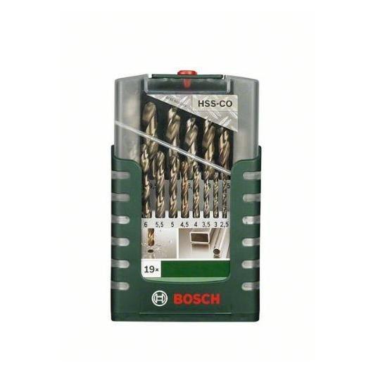 Kit de 19 brocas Bosch HSS-G para metal