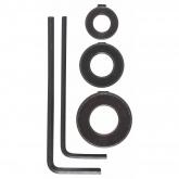 Set di 3 boccole di arresto profondità Bosch