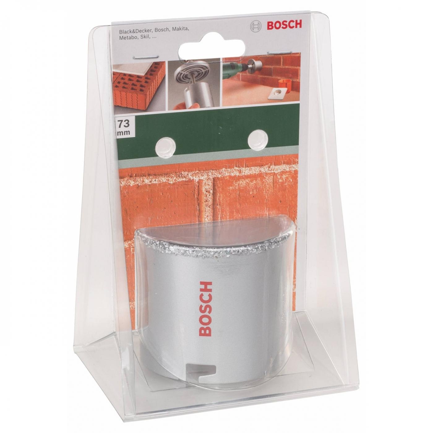 Sega a tazza bosch 73 mm per muratura pietra e piastrelle - Sega per piastrelle ...