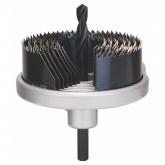 Lot de 7 scies cloches Bosch 18,5 mm pour le bois