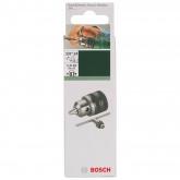 Portabrocas de corona dentada con llave Bosch 3/8-24 1-10 mm