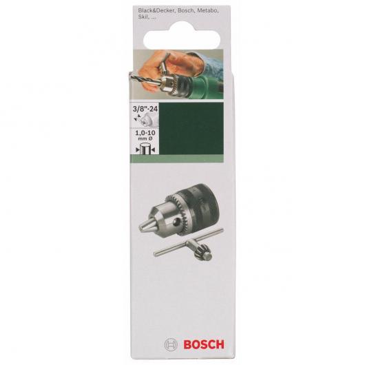 Mandrino a chiave Bosch 3/8-24 1-10 mm