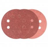 Lot de 6 abrasifs Bosch avec velcro et perforation pour ponceuse excentrique 115 mm