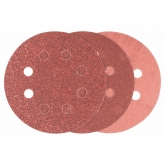 Lot de 6 abrasifs Bosch avec velcro et perforation pour ponceuse excentrique 125 mm