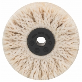 Escova sisal de polido prévio Bosch para berbequim 85 mm
