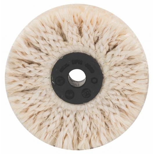 Spazzola circolare Bosch in sisal per lucidatura per trapano 85 mm