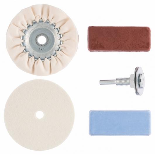 Set basico di pulizia Bosch per metallo, plastica e marmo