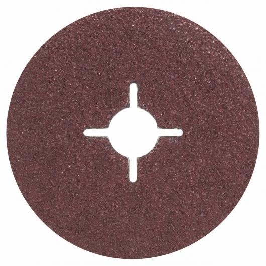 5 fogli abrasivi Bosch per smerigliatrice GR 24 115 mm