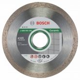 Disco de corte de diamante Bosch para amoladora 115 mm para azulejos y cerámica