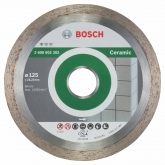 Disco de corte de diamante Bosch para rebarbadora 125 mm para azulejos e carâmica