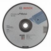 Disque de coupe décalée Bosch pour ponceuse 230 mm pour le métal