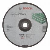Disco de corte rebajado Bosch para amoladora 230 mm para piedra