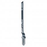 Lot de 2 lames de scie sauteuse T 119 BO Bosch pour coupes grossières basiques du bois