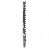 Confezione di due lame per sega da traforo T 144 D Bosch per tagli grezzi e rapidi in legno