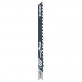 Pack de 2 hojas de sierra de calar U 114 D Bosch para cortes bastos rápidos en madera