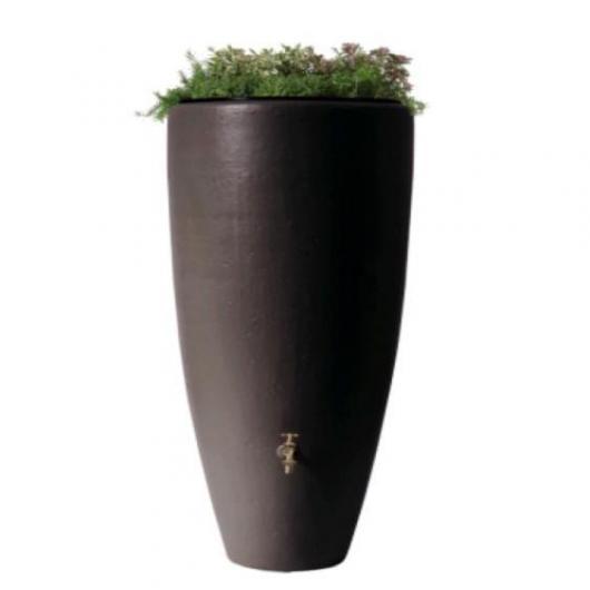 Deposito acqua piovana e vaso moca