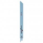 Lot de 2 lames de scie sabre S 1122 BF souples Bosch pour coupes du métal moyen