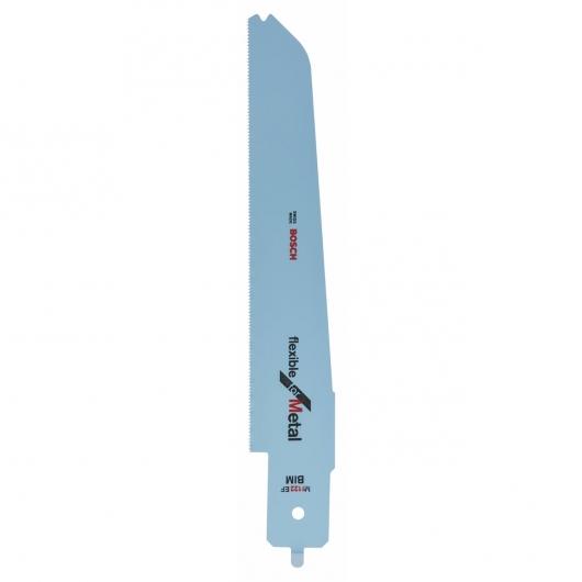 Pack de 2 hojas de sierra sable M 1122 EF flexibles Bosch PFZ 500 E para cortes en metal