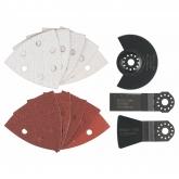 Set basico Bosch per tagliare, levigare e raschiare con attrezzo multifunzione