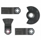 Set de acabado de suelos Bosch para trabajos de solería y parquet con multiherramientas