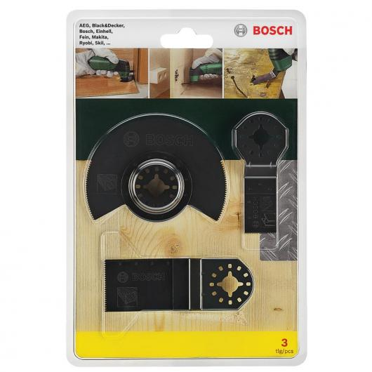 Set di iniziazione Bosch per multi attrezzi per legno e metallo