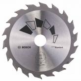 Disque standard Bosch pour scie circulaire 130 x 20/16 mm 18 dents