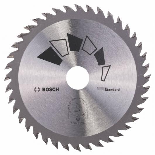 Disque standard Bosch pour scie circulaire 130 x 20/16 mm 40 dents