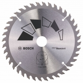 Disque standard Bosch pour scie circulaire 150 x 20/16 mm 40 dents
